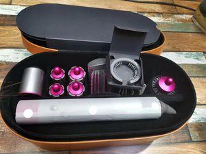 Top qualité DYS bigoudi multi-fonction styler Appareil automatique Fer à friser 8 tête boîte-cadeau le plus chaud 24 heures Livraison rapide-00 gratuit