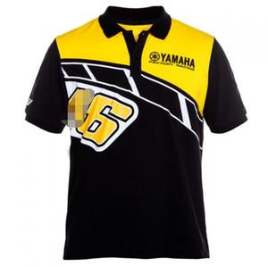 2020 Nova Yamaha Motos equitação de manga curta T-shirt Camisa Polo T-shirt Casual lapela Cavaleiro algodão de manga curta