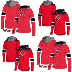 New Jersey Devils AD Hoodies Jerseys Hombres / Mujeres 11 Brian Boyle 13 Nico Hischier 9 Taylor Hall 63 Jesper Bratt Hoodies Jerseys Sudaderas