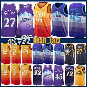 Donovan 45 Mitchell NCAA Joe 2 Ingles Jsfdy Rudy 27 Gobert John Stockton 12 Ricky Rubio 3 Grayson Karl 32 Allen Malone Mike Conley 10 homens