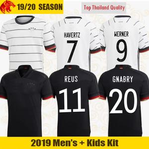 유로 2020 독일 축구 유니폼 레 우스 홈 키트 HUMMELS KROOS MULLER GOTZE 축구 셔츠 HAVERTZ 남성 저지 키즈 키트