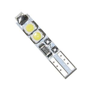 100PCS blanc bleu blanc chaud 58 70 73 74 T5 5SMD 3528 Tableau de bord LED plaque d'immatriculation Ampoule