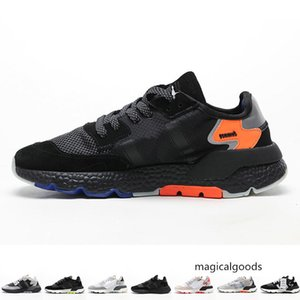 2019 Mens Nite Jogger Trainers for Men 3M Sneakers Womens Reflective Running Shoes Women Sports Chaussures Pour Hommes Baskets Femmes Casual