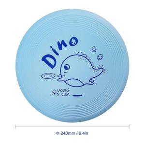 9.4 pulgadas 105G Flying Professional Disc de dibujos animados Throw Catch Flying discos al aire libre juego juguete Deporte disco Para los niños de la mano Pinzas