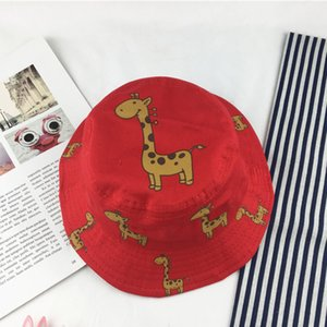 Baby Boy Girl Hat Cap for Children Kids Toddlers Panama Bucket Fishing Floppy Sun Hat Boys Girls Cartoon Fashion