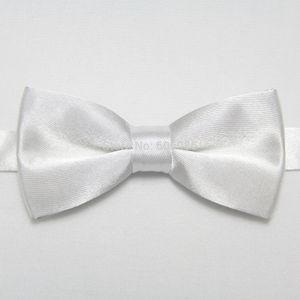 Çocukların parti kelebekler çocuk kravat 28colors için HOOYI 2019 katı beyaz çocuğun papyon