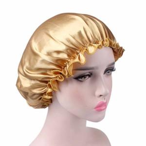 Frauen-Schlaf Cap Satin Nacht Bonnet Hüte Lace Schlafmütze Haarpflege-Kopf-Abdeckung Beanie Satin Bonnet Caps Nightcap für Mädchen GGA3341-7