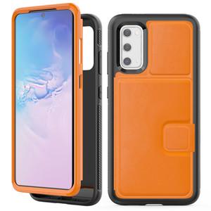 Для Samsung Galaxy S20 Plus Wallet Case Роскошный PU кожаный мягкий TPU задняя крышка телефона чехол для Samsung S20 Ультра