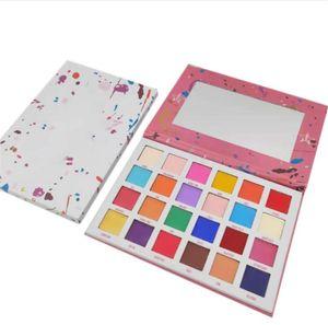 El más nuevo maquillaje de la marca de la estrella de ojos paleta de sombra de ojos 24 colores mate Paletas Pigmento polvo presionado paleta de sombra de ojos