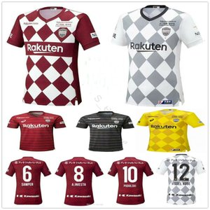 2020 Japon J1 League soccer jersey Vissel DAVID VILLA chemises de football A.INIESTA PODOLSKI SAMPER uniformes 20 21 adultes camiseta de INIESTA