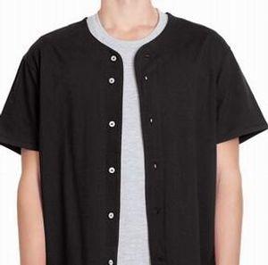 qwe 1313 1123 000 589 545 Base-ball personnalisé jersey blanc boutonné Pull homme taille femme S-3XL