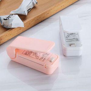 Mini thermoscellage portable Petit électrique Scellant Soudeuse Impulse Sealer SEAL Sacs en plastique 2 couleurs