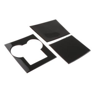 Car Center Console Wrap interior kit Adhesivos Accesorios Para Tesla Model 3