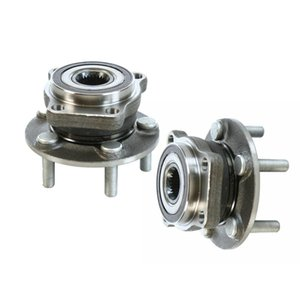 2 Front Wheel Bearing Hub Set for 2010 2011 - 2013 Subaru Forester Legacy Outback