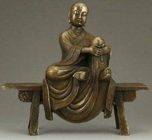 구리 황동 중국어 공예 아시아 섬세한 중국 황동 법령-탕 Xuanzang 누구에
