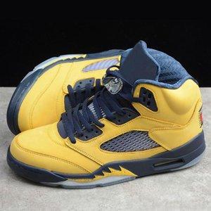 2020 новое 5-е поколение мужская баскетбольная обувь натуральная кожа износостойкие нескользящие дышащие кроссовки мода Гао Банг повседневный бег