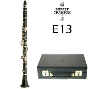 Buffet Crampon E13 clarinetto 17 strumento Tasto B Flat bachelite / Ebony Bb musicale Clarinetto di trasporto con boccaglio accessori