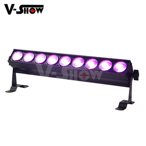 New Cob Bar Led Stage Lighting 9*10W Pixel RGBW Great Pure Wash Effect and Strobe effect Stage Cob bar light