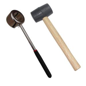 Cuchillo de acero inoxidable nuevo Lid Herramientas de coco abrelatas T200227