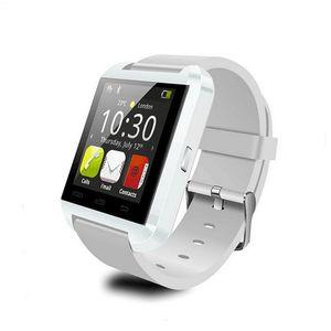 Reloj inteligente original U8 Bluetooth Reloj inteligente electrónico Rastreador de ejercicios Pulsera inteligente para Apple IOS Watch Android Phone Watch
