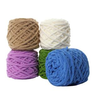 16pcs Super Thick crochet Yarn Kids woolen yarn Soft Warm Wool Yarn for Knitting Scarf Sweater Blanket Wholesale T200601
