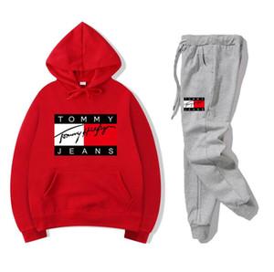 NOVITÀ sweatsuit Designer tuta delle donne degli uomini hoodies + pantaloni Uomo Abbigliamento Felpa Pullover Casual Tennis Sport Tute Sweat Suits