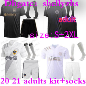 kit pour adultes 2020 FC MLS INTER Miami Soccer Jersey 20 21 Atlanta kit complet maillots de football LA Galaxy New York LAFC Los Angeles mens uniformes