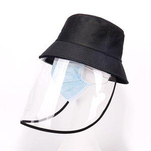 chapéu novo Fisherman Protective Cap Anti-bacteriana Isolamento Aeolian Areia Poeira Hat Eye prevenção proteção epidemia Partido HatsT2C5188
