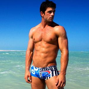Gay Mayo Erkekler Yüzme bavulları Mens Yıkanma Kısa Mayo Zwembroek Jongen Bermudas erkek özetleri 210 yüzmek