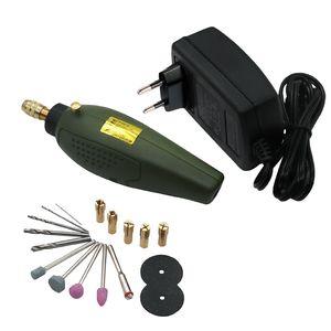 Электрический шлифовальный станок Mini Drill dremel Набор для заточки 12V DC dremel аксессуары Инструмент для фрезерования, полировки, сверления, резки, гравировки