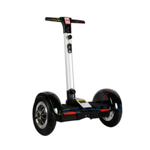İki tekerlek Akıllı kendini dengeleyen kolu Mobil APP Bluetooth scooter 10-inç akıllı elektrikli kaykay ile scooter hoverboard