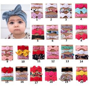 niños venda del bebé 3pcs / set nuevas chicas calientes de venta arco accesorios para el cabello una variedad de estilos sombreros Bebé indio venda elástico del pelo de Bohemia