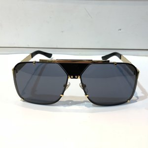 2167 Sunglasses For Men Fashion Design Full Frame UV400 UV protection Lens Steampunk Summer Square Style Comw With Package