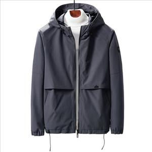 veste à capuche loisirs jeunesse hommesCravates veste mince mince tendance hommes veste automne vêtements pour hommes