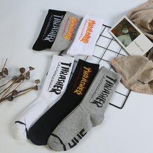 Sports Fashion Cotton Breathable High-end stockings harajuku Korean street socks cotton hip-hop skateboard socks euramerican style
