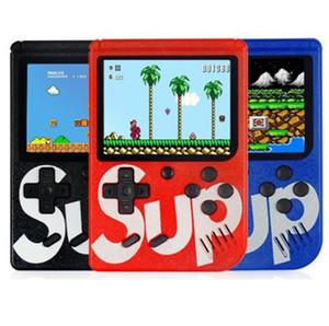 400 in 1 G4 Sup Retro FC 8 bit Mini portatili portatili per videogiochi Console per giochi 3 schermi LCD Supporto per superficie texture TV-Out Miglior regalo