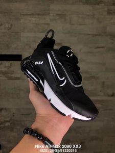 Nike Air Vapormax 2090 2020 Детские кроссовки 2090 новорожденных 2090 кроссовок Аннотация тапки Мальчик девушки Тройной Черный Белый Малыш Дети