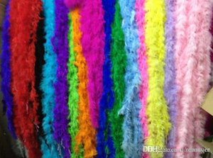 2020 Hot Selling Marabou Feather Boa For Fancy Dress Party Burlesque Boas Free Shipping