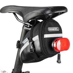Assento da cauda do carro Mountain Bike Bag Almofada Back Pack Back Seat Glueless Tire Repair Tool Set Combinação