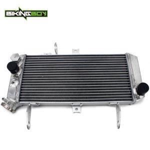 BIKINGBOY alumínio polido Motor Água Cooler radiador para SV650S SV650 K5-K9 L0 2005 2006 2007 2008 2009 2010