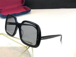 Nuevas mujeres del diseñador de moda las gafas de sol 0625 simple simple marco cuadrado estilo vanguardista de diseño de gafas de protección UV400 de primera calidad