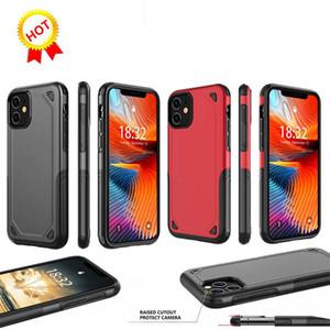 Best seller ibrida Armatura Dual Layer duro Caso Heavy Duty Defender protezione Shockproof per iphone11 pro max x 8 7 6s più S9 s10 note10