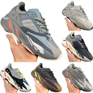 2020 Coconut 700 V2 Runner Statico riflettenti Running Shoes originale Kanye West 700 Runner Calabasas inerzia paracolpi in gomma Scarpe da jogging