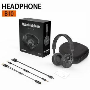 Портативный B10 Музыка Bluetooth Беспроводные наушники с микрофоном Hi-Fi Surround Sound с шумоподавлением Наушники для телефона PC Tablet в розничной коробке