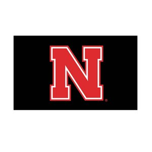 NEBRASKA Flag NCAA flag 3x5FT 150x90cm 100D Polyester Printing Hanging Flag With Brass Grommets Free Shipping