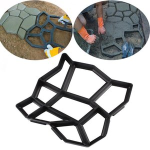 Garden Path Maker Mold Walk Pavement Concrete Mould DIY Manually Paving Cement Brick Stone Road Concrete Pathmate Mould 7 Days Delivered