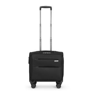 Tekerlekli Çanta Erkekler Rolling Bagaj Fonksiyonlu Seyahat Kadınlar Kabin Suitcase Tekerlekler Oxford Tekerlek SuitcasesFlight Kutusu