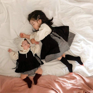 2020 New Baby Girls 2 Pcs Set Romper+Vest Autumn Cotton Fashion Baby Girls Suits 6-24 month QH912