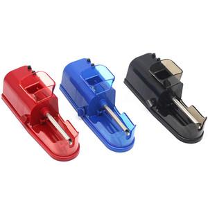 2019 담배 롤링 Mechaine 자동 전자 담배 블랙 레드 블루 자동 플라스틱 공작 기계 높은 품질 흡연 기계