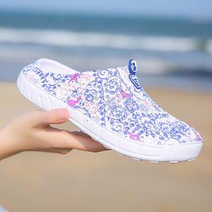 Original New Garden Infradito scarpe d'acqua Donne Sport Wading spiaggia di estate Aqua Slipper esterna Eva Hole Sandals Shoes giardinaggio